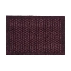 Tmavovínová rohožka Tica Copenhagen Dot, 60 x 90 cm