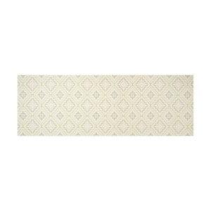 Biely behúň White Label Apricot, 100×65 cm