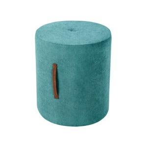 Tyrkysovomodrá taburetka Kooko Home Motion, ø 40 cm
