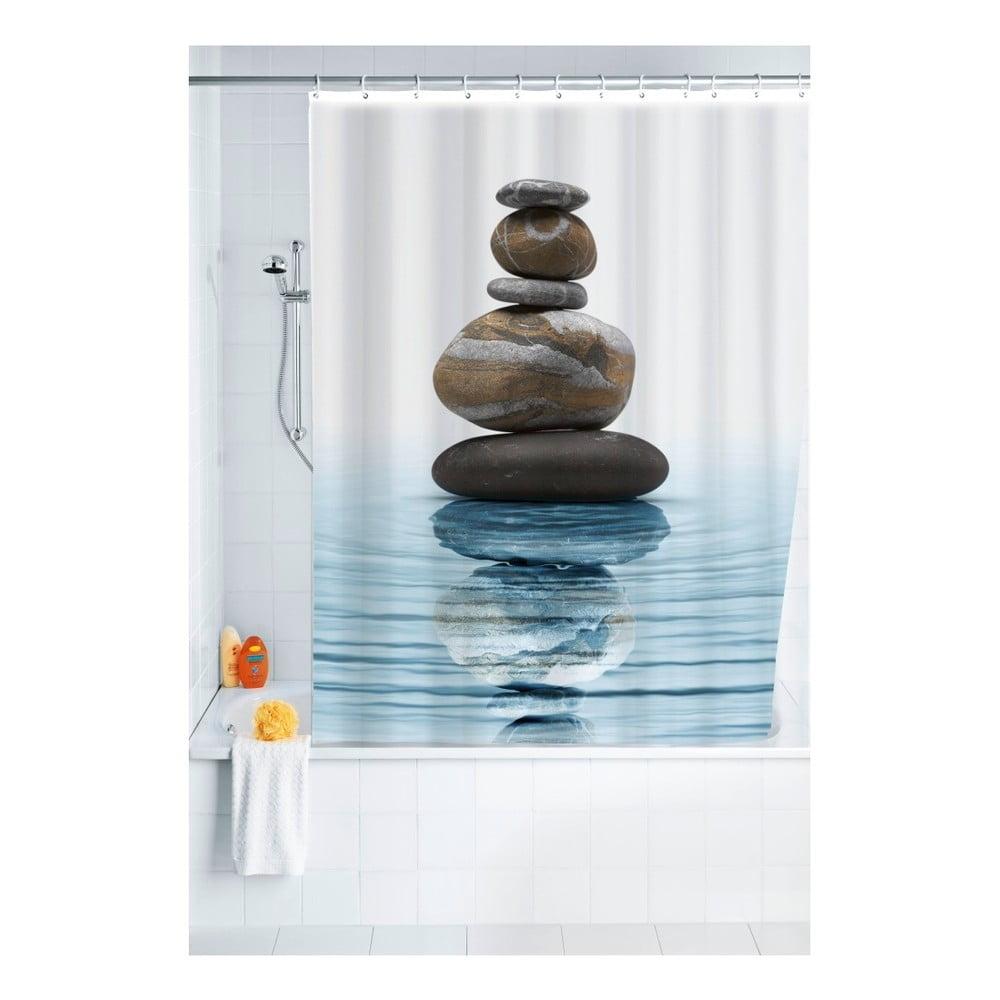 Sprchový záves Wenko Balance, 180 × 200 cm