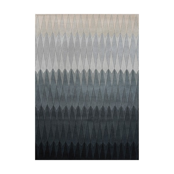 Vlnený koberec Acacia Grey, 140x200 cm