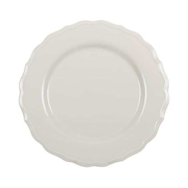 Sada 18 ks keramických tanierov Bologne Crema
