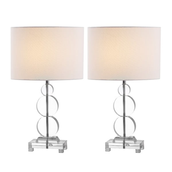 Sada 2 stolových lámp Safavieh Rutland