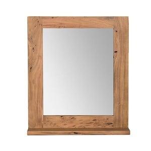 Nástenné zrkadlo z akáciového dreva Woodking Wellington