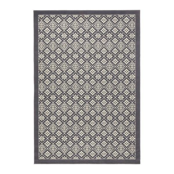 Sivo-biely koberec Hanse Home Gloria Tile, 80 x 150 cm