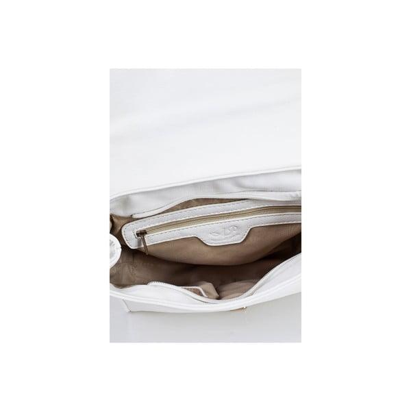 Kabelka Acqua di Perla Ecate Bianco, 25x20 cm
