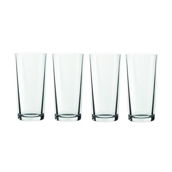 Sada 4 pohárov Longdrinks
