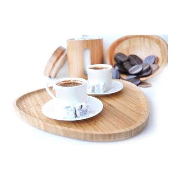 Bambusový podnos na kávu Macchiato