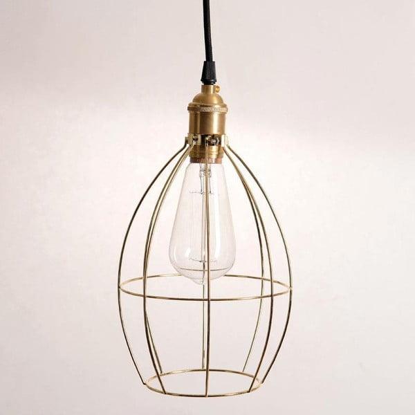 Minimalistické stropné svetlo In Gold