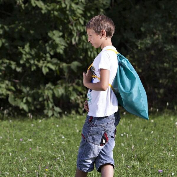 Batoh/vrece do školy, zelený