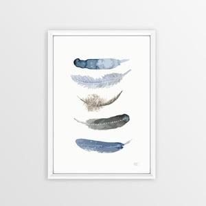 Obraz Piacenza Art Feathers, 30 × 20 cm