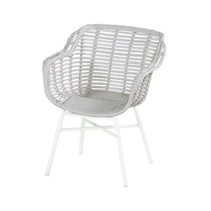 Prútená záhradná stolička s vankúšikom Hartman Cecilia