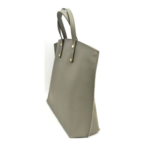 Kožená kabelka Laetitia Taupe
