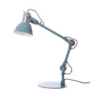 Modrá stolová lampa Look4Lamps Casdock