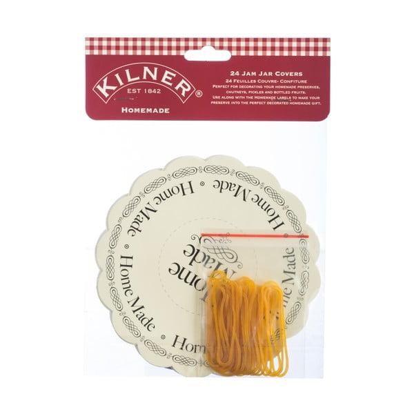 Sada 24 štítkov na nádoby Kilner I