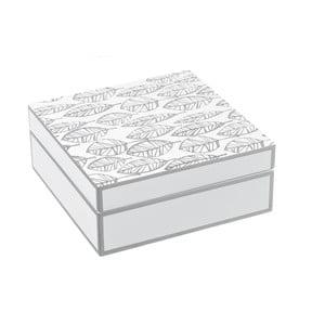 Úložný box Unimasa Feather, 20x20cm