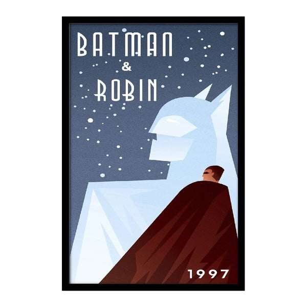 Plagát Batman & Robin, 35x30 cm