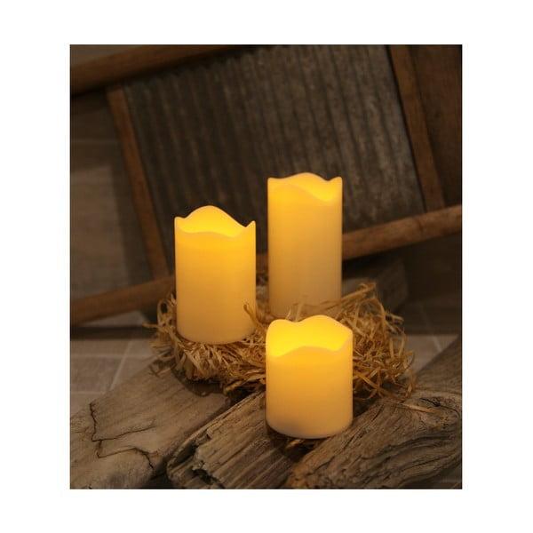 Sada troch LED sviečok