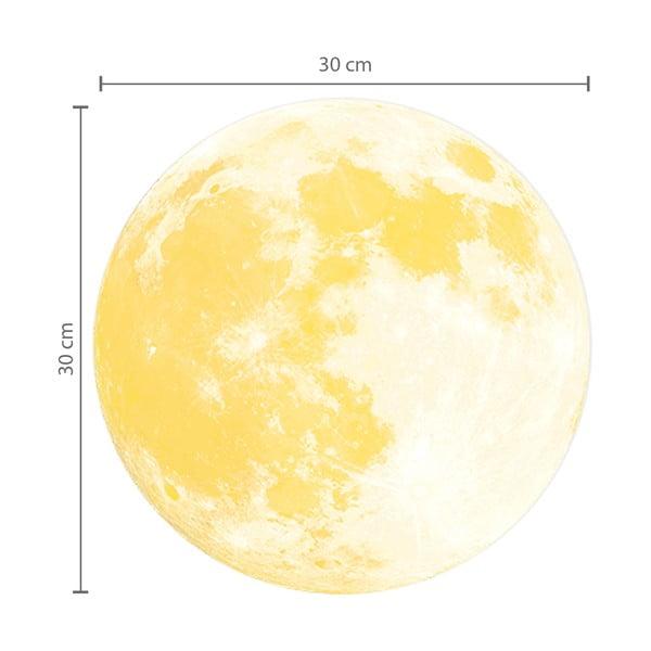 Svietiaca samolepka na Walplus Mesiac