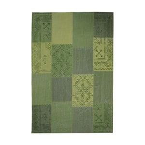 Zelený ručne tkaný koberec Kayoom Emotion, 160 x 230 cm