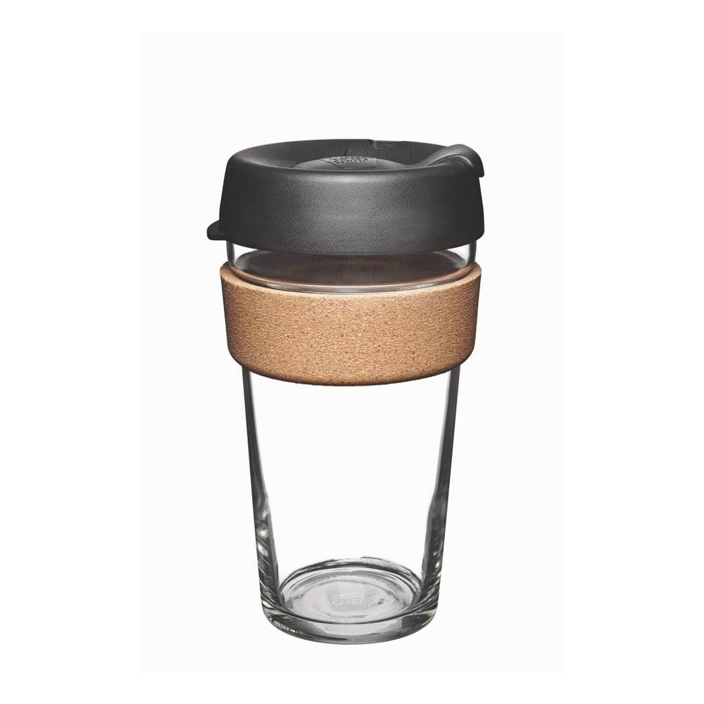 Cestovný hrnček s viečkom KeepCup Brew Cork Edition Espresso, 454 ml