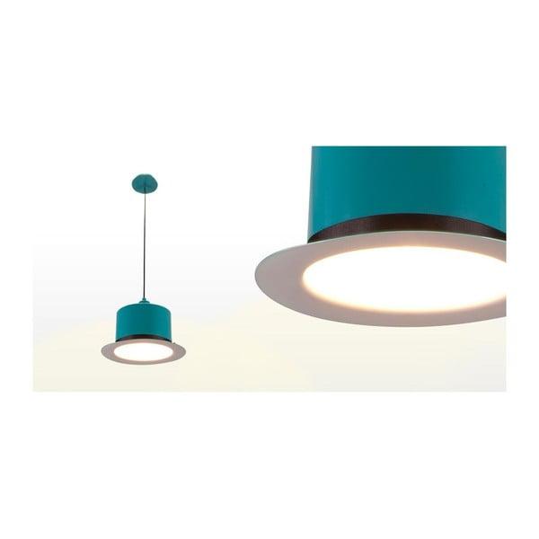 Stropné svetlo Hat Turquoise/White