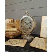 Stolové hodiny Antique Silver