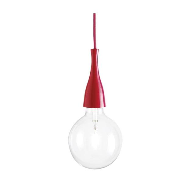 Červené závesné svietidlo Evergreen Lights Crido City