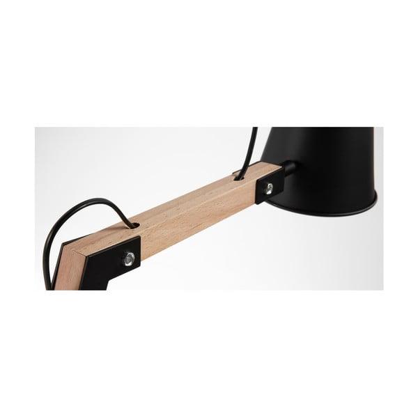 Čierna stolová lampa La Forma Andra