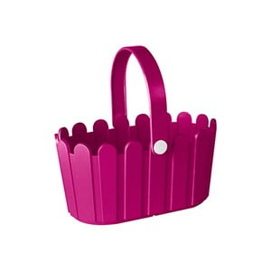 Kvetináč Landhaus Basket Pink