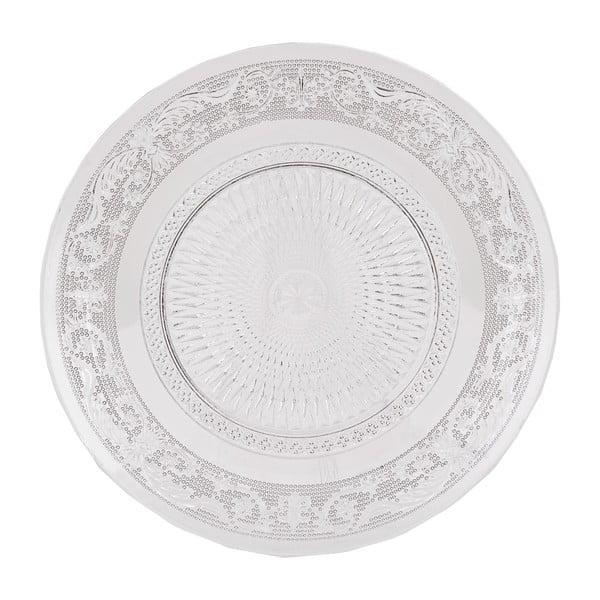 Sklenený tanier Clayre Eef, 20 cm