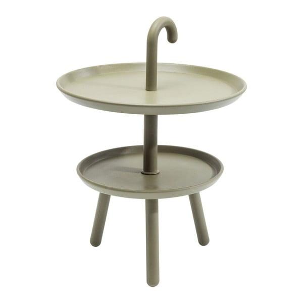 Zelený odkladací stolík Kare Design Jacky, ⌀42cm
