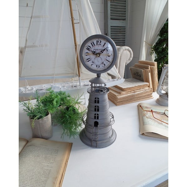 Stolové hodiny Clock Metallic