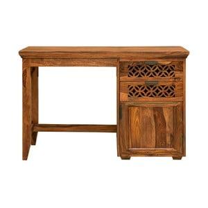 Pracovný stôl z masívneho palisandrového dreva Massive Home Rosie