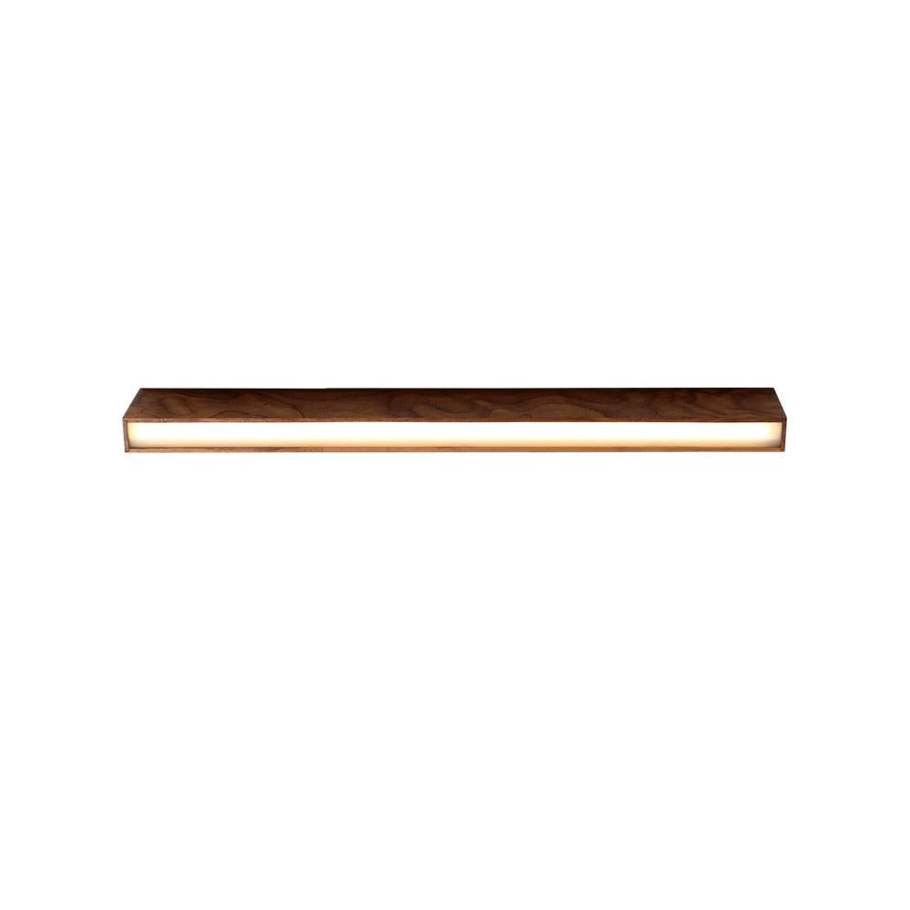 Stropné svietidlo z orechového dreva Custom Form Line Plus L Woody