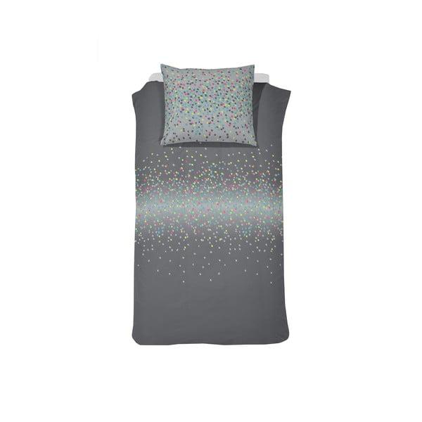 Obliečky Night Grey, 140x200 cm