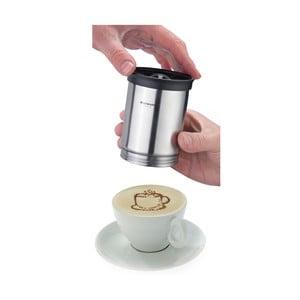 Zdobítko na kávu Castor