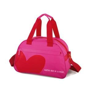 Cestovná taška Agatha, ružová