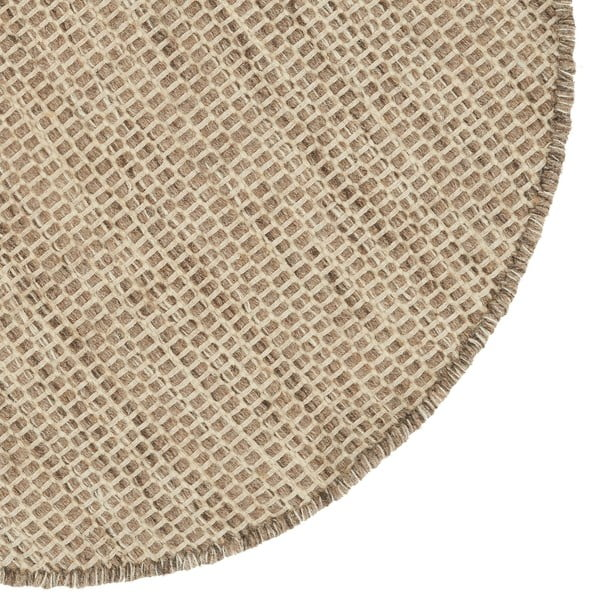 Vlnený koberec Asko Light Grey, 150 cm