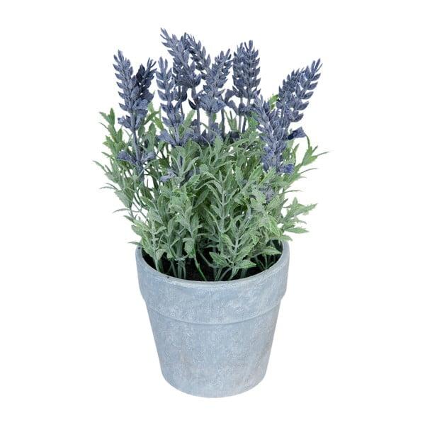Umelá levanduľa v kvetináči Clayre & Eef Lavender