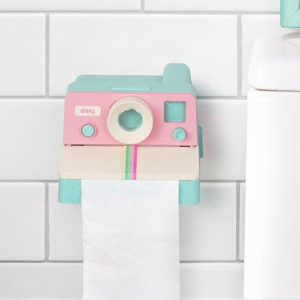 Držiak na toaletný papier Polaroll Pastel