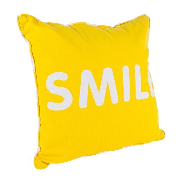 Vankúš Smile, žltý