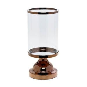 Svietnik Trophy Copper, 13x13x27 cm