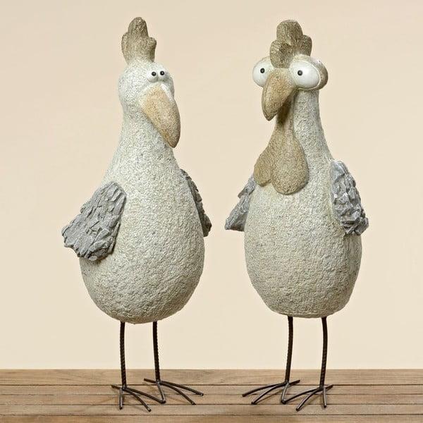 Sada 2 dekoratívnych vtáčikov Pavlik, 60 cm