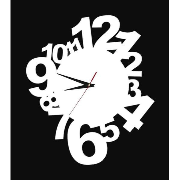 Dekoratívne nalepovacie hodiny Modern Numbers