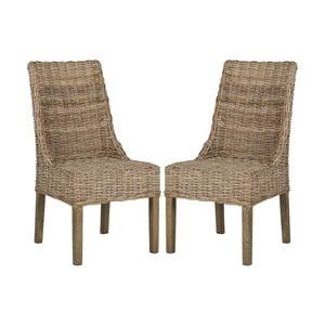 Sada 2 ratanových stoličiek Safavieh Suncoast