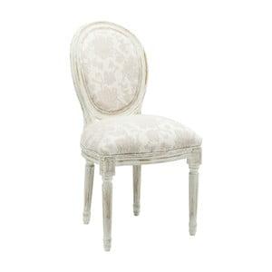 Biela jedálenská stolička Kare Design Louis Romance