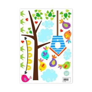 Nástenné samolepky Little W Happy Spring, 29,7×42cm