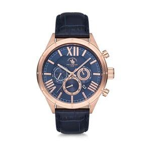 Pánske hodinky s koženým remienkom Santa Barbara Polo & Racquet Club Tom