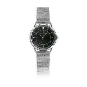 Unisex hodinky z antikoro ocele s čiernym ciferníkom Frederic Graff Roland
